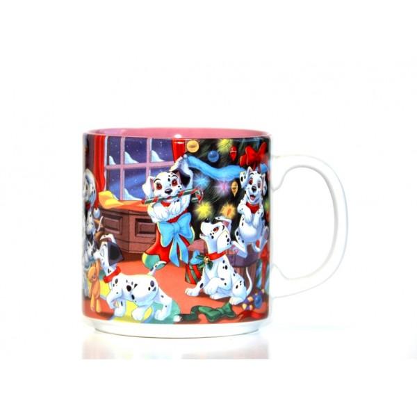 Classic 101 Dalmatians Christmas Mug