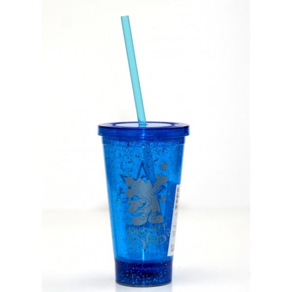 Disneyland Paris 25 Anniversary Mickey light up Cup with Straw