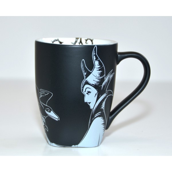 Disney Maleficent Black and White Mug