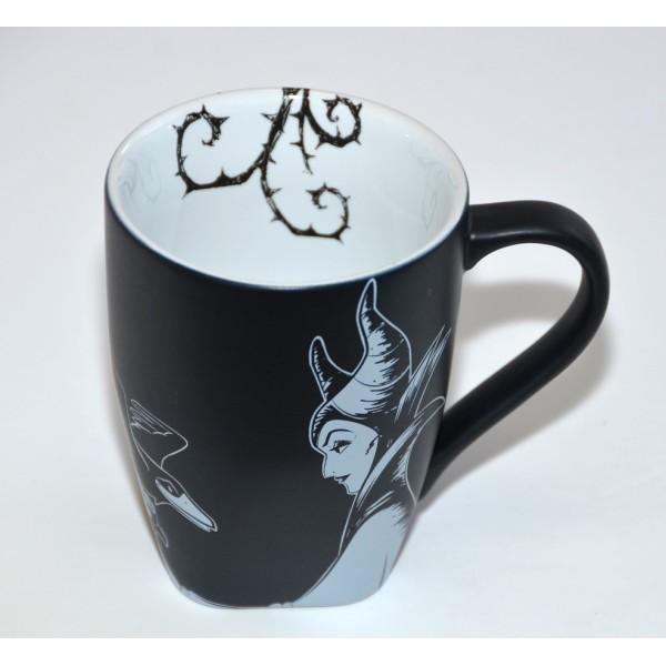 Disney Maleficent Black and White Mug