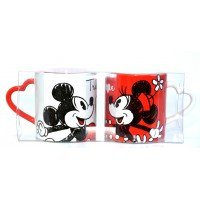 Mickey and Minnie True Love mug set