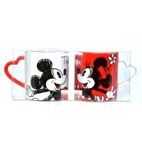 Mickey and Minnie True Love mug set, Disneyland Paris