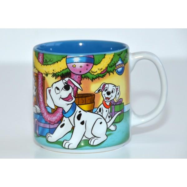 Classics 101 Dalmatians Christmas 2001 mug