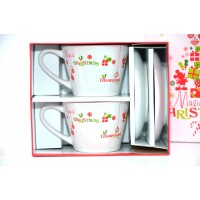 Disneyland Paris Magical Christmas 2 coffee cups set