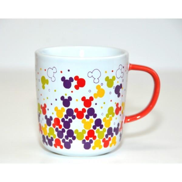 Disneyland Paris Mickey Mouse icon pattern colour Mug