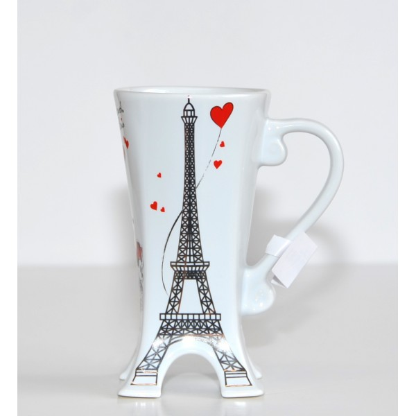 Disneyland Paris Eiffel Tower 3D Mug