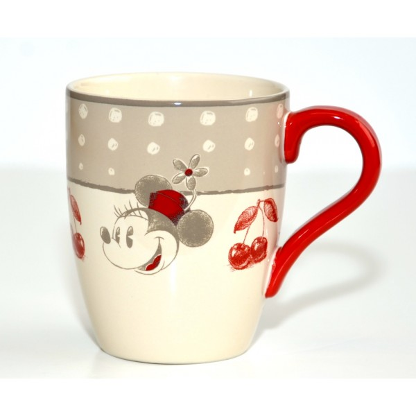 Disney Minnie Mouse red Mug, Disneyland Paris