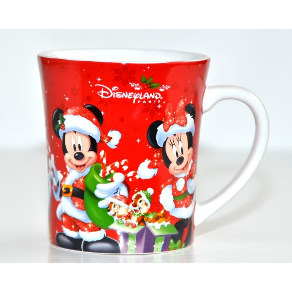 Disneyland Paris Characters Christmas Mug