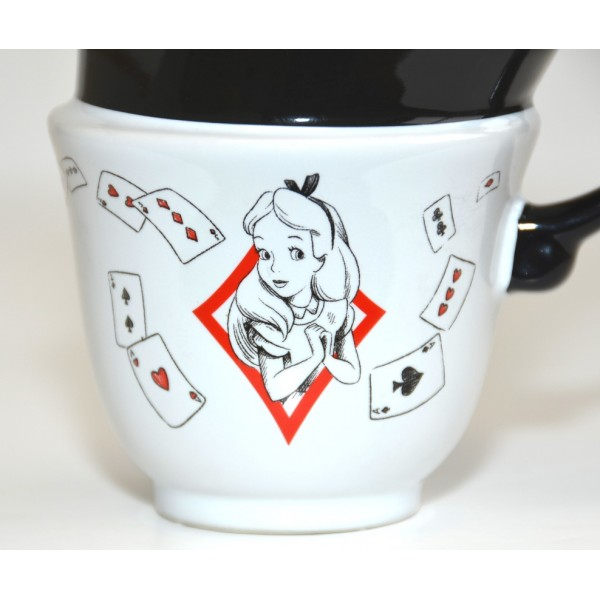 Disneyland Paris Alice in Wonderland Stacked Mug - New collection