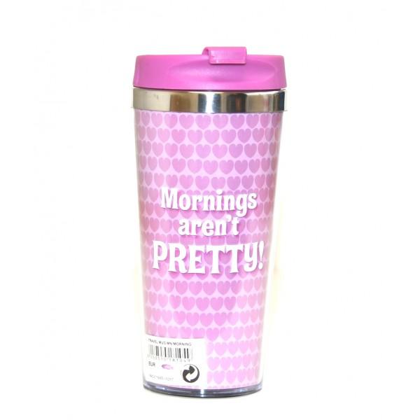 Disney Travel Mug - Minnie Mouse - Mornings aren't Pretty