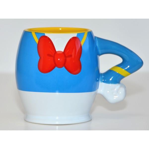 Donald Duck Large Fun Breakfast Mug, Disneyland Paris