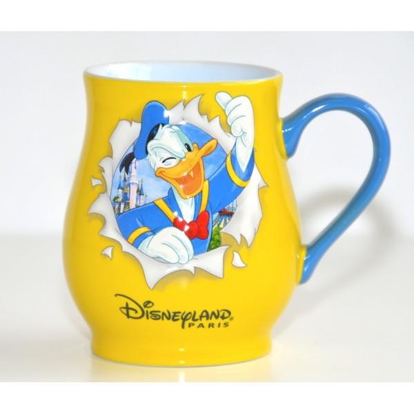 Donald Duck Burst Mug, Disneyland Paris
