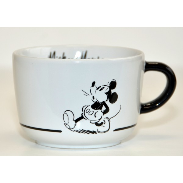Disneyland Paris Mickey Mouse Comic Black and White cup