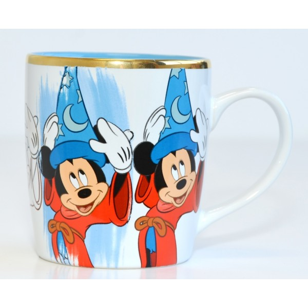 Disney Ink & Paint Mickey Mouse Fantasia Mug, Disneyland Paris
