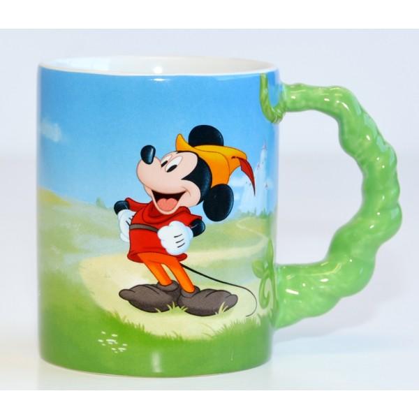 Disneyland Paris Mickey Mouse Beanstalk handle Mug