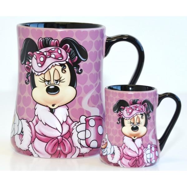 Minnie Mouse Mornings Mug and espresso cup Set, Disneyland Paris