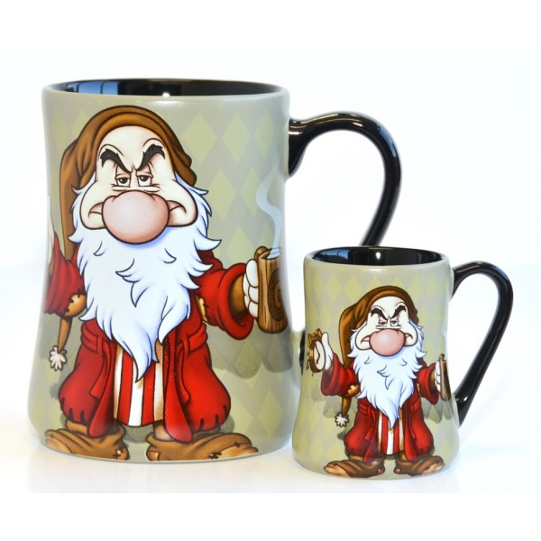 Grumpy Mornings Mug and espresso cup Set, Disneyland Paris