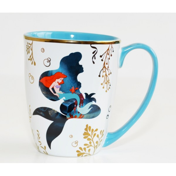 Disneyland Paris Ariel The Little Mermaid film mug