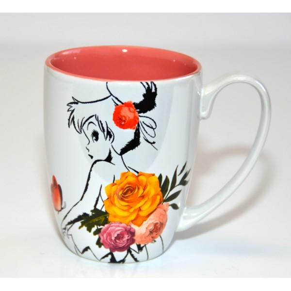 Disney Tinker Bell Flower Mug