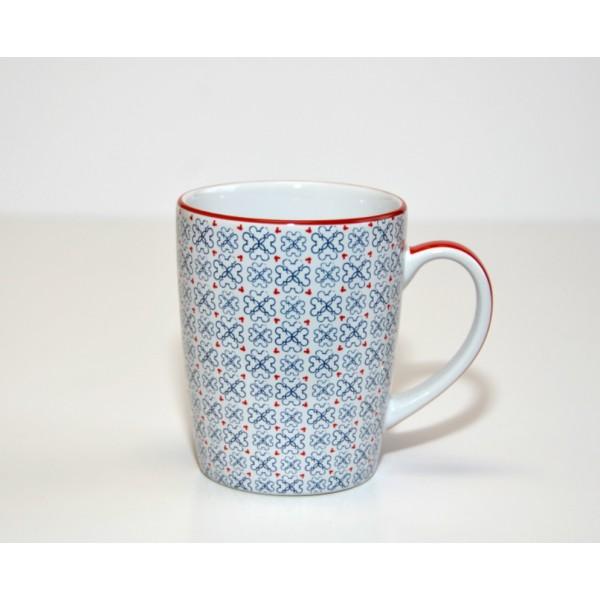 Mickey Mouse Icon Indigo Stacked Mug