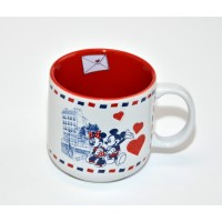 Disneyland Paris Mickey and Minnie Letter Mug