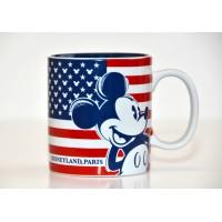 Disneyland Paris Mickey American Flag Mug