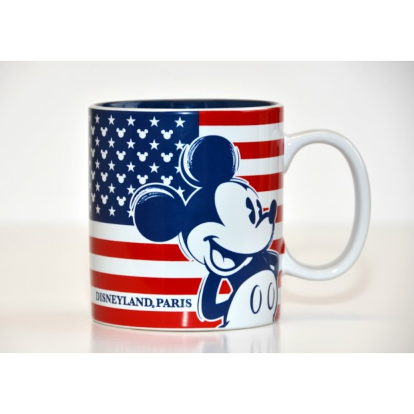Disneyland Paris Mickey American Flag Mug