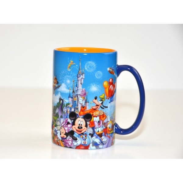 Disney Storybook Attractions Coffee Mug