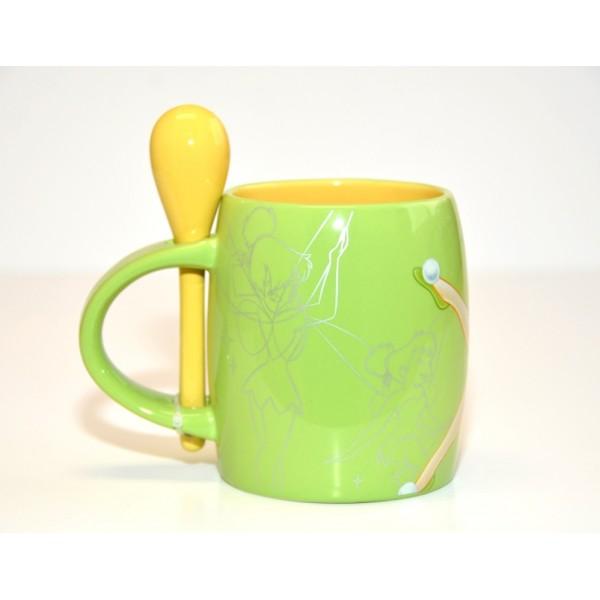 Tinker Bell Mug and Spoon