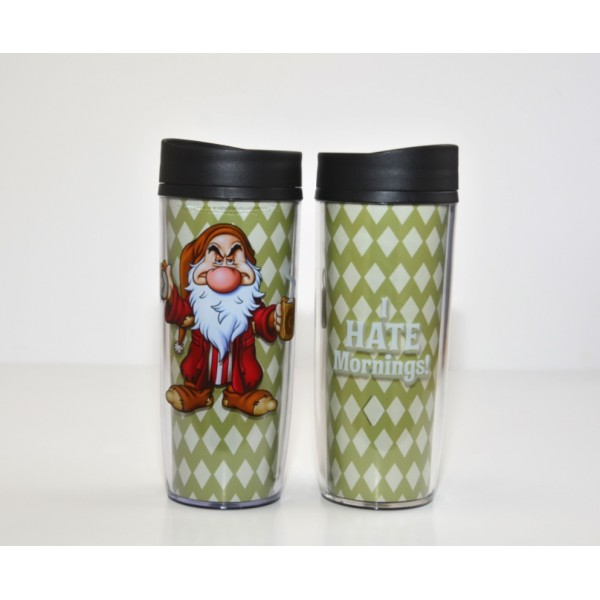 Disney Travel Mug - Grumpy - I HATE Mornings