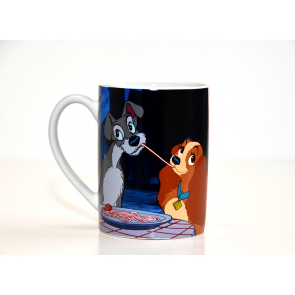 Disney Lady and the Tramp Love Mug