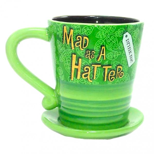 Disney Coffee Cup Mad Hatter Hat