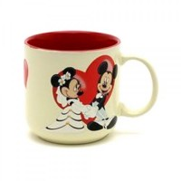 Disney Mickey and Minnie Wedding Mug