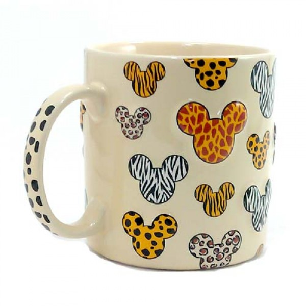 Animal Print Mickey Mouse Mug