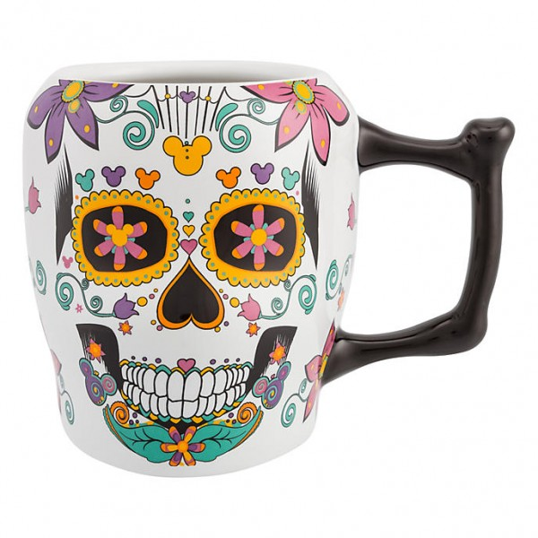 Disney Day of The Dead Sugar Skull Mug
