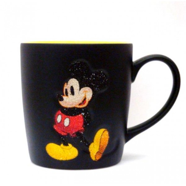 Disney Mickey Mouse Glitter Mug