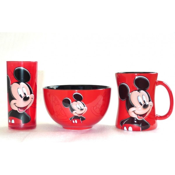 Disney Character Portrait Mickey Mouse Bowl
