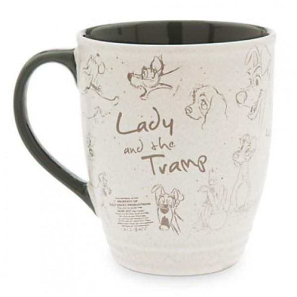 Lady And The Tramp Disney Classics Coffee Mug
