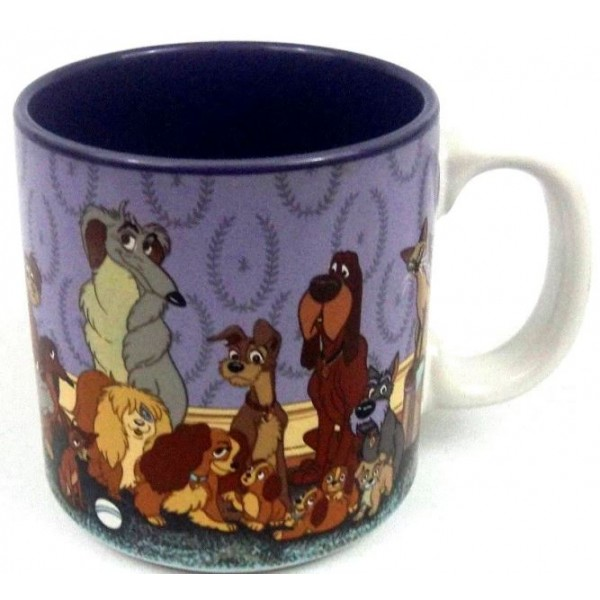 Vintage Disney Lady & The Tramp Mug