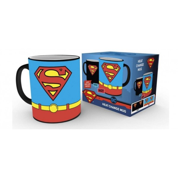 Superman Costume heat change mug - DC Comics