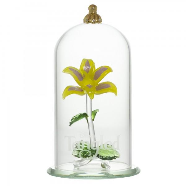 Rapunzel Flower Dome Ornament, Arribas Glass Collection 10cm