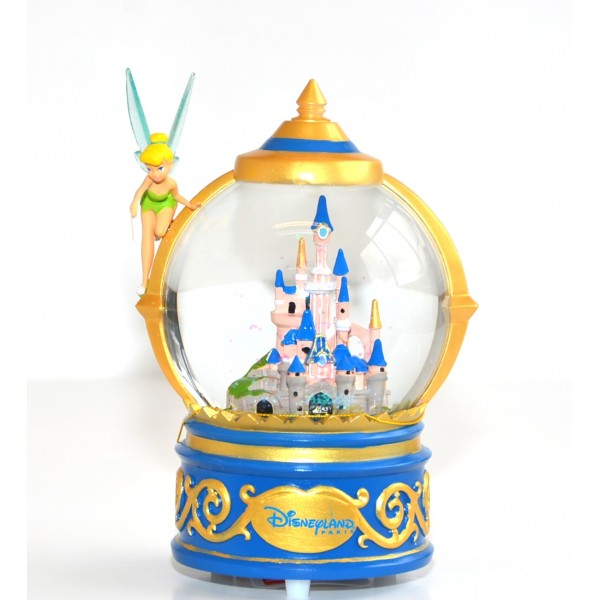 Tinker Bell Castle Musical snow globe, Disneyland Paris