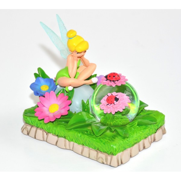 Tinker Bell Flower snow globe, Disneyland Paris