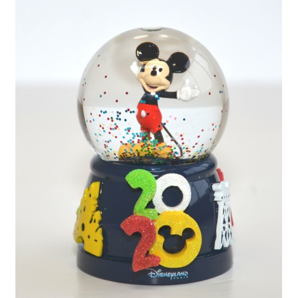 Disneyland Paris 2020 snow globe