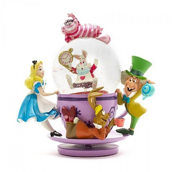 Alice in Wonderland Snow globe