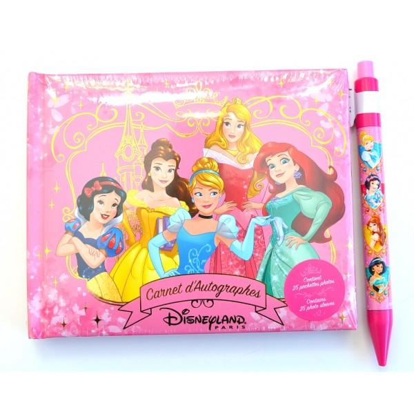 Disneyland Paris Princess Autograph Book and pen