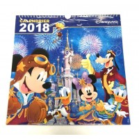 Disneyland Paris 2018 Wall Calendar