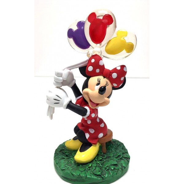 Minnie Mouse with Balloons Photo Picture Clip Frame
