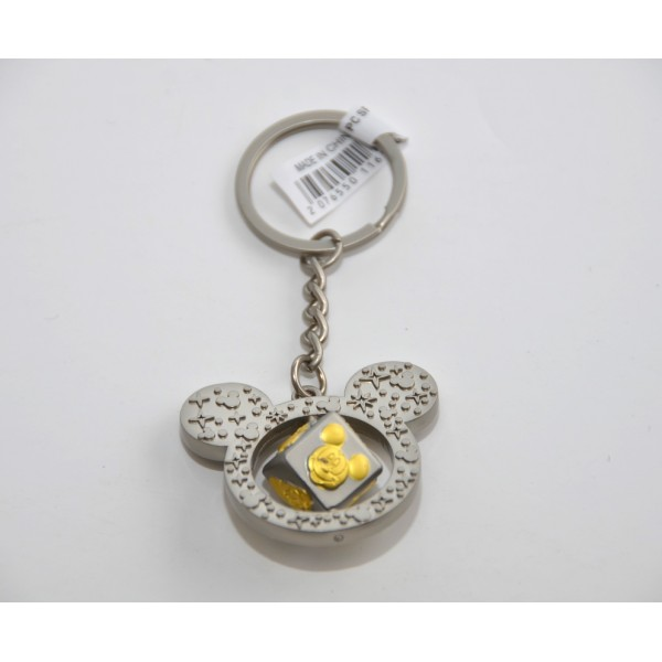 Disneyland Paris Mickey Friends spin cube Key Ring