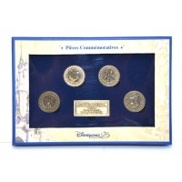 Disneyland Paris 25th Anniversary Commemorative coins and plaque Limited Edition